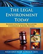 The Legal Environment Today: Business In Its…