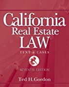 California Real Estate Law by Theodore H.…