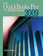 Using Quickbooks Pro 2009 for Accounting…