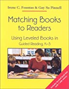 Matching Books to Readers: Using Leveled…