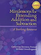Minilessons for Extending Addition and…