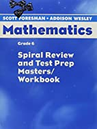 Spiral Review and Test Prep Masters/Workbook…