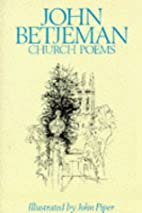 Church Poems by John Betjeman