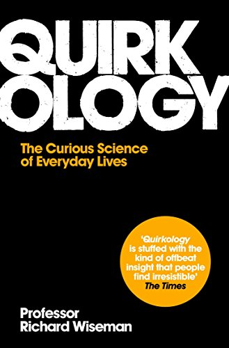 Cover of Quirkology by Richard Wiseman