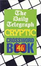 The Daily Telegraph Cryptic Crossword Book…