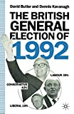 Butler, David: The British General Election of 1992