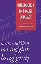 Introduction to English Language by N. F.…