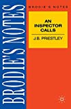 "Gooden, Philip: Priestley: ""An Inspector Calls"" (Brodie's Notes)"