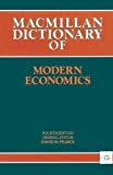 Pearce, David W.: Dictionary of Modern Economics