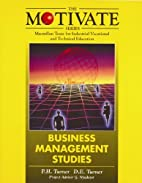Business management studies by Peter Turner