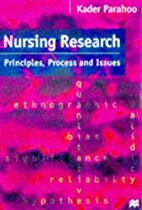 Nursing Research: Principles, Process and…