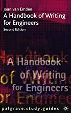 Handbook of Writing for Engineers (Palgrave…