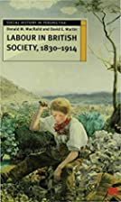 Labour in British Society, 1830-1914 (Social…