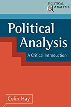 Political Analysis: A Critical Introduction…
