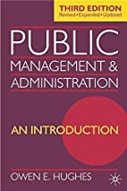 Public Management and Administration: An…