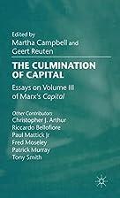The Culmination of Capital: Essays on Volume…