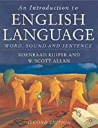 An Introduction to English Language: Sound,…
