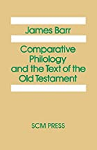 Comparative Philology and the Text of the…