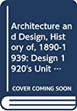 Tim Benton: Architecture and Design, History of, 1890-1939 (Course A305)