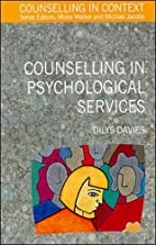 Counselling in Psychological Services…