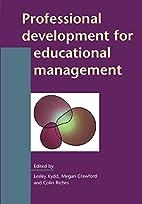 Professional development for educational…