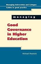 Managing Good Governance (Managing…