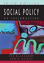 Social Policy: An Introduction by Ken…