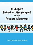 Effective Behaviour Management in the…