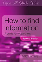 How to Find Information: A Guide for…