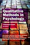 Banister, Peter: Qualitative Methods in Psychology