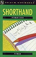 Pitman 2000 Shorthand (Teach Yourself) by…