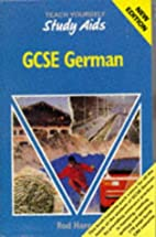 German Gcse Study Aids by Rod Hares