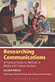 David Deacon: Researching Communications: A Practical Guide to Methods in Media and Cultural Analysis