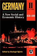 Germany: A New Social and Economic History…