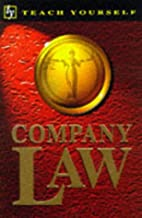 Company Law (Teach Yourself) by Colin Thomas