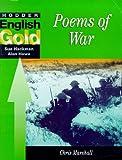 "Marshall, Chris: Hodder English GOLD: ""Poems of War"""