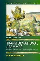 Introducing Transformational Grammar : From…
