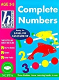 "Barraclough, Sue: Complete Number: ""Very First Numbers"", ""Numbers"", ""Number Practice"" (Hodder Home Learning: Age 3-5)"