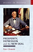Prosperity, Depression and the New Deal…