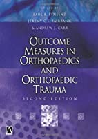 Outcome Measures in Orthopaedics and…