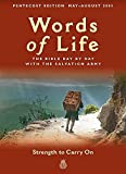 Salvation Army: Words of Life, May-August 2003: Strength to Carry on