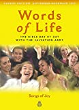 Salvation Army: Words of Life, September - December 2003