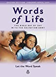 Salvation Army: Words of Life, Easter Edition January: Let the Word Speak