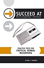 Practice Tests for Critical Verbal Reasoning…
