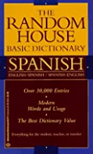 Random House Basic Dictionary Spanish by…