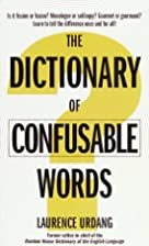 The Dictionary of Confusable Words by…