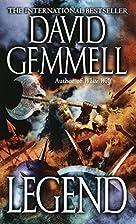Legend by David Gemmell