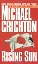 Rising Sun by Michael Crichton