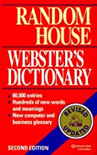 Random House Webster's Dictionary: Third…