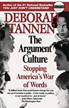 The Argument Culture: Stopping America's War…
